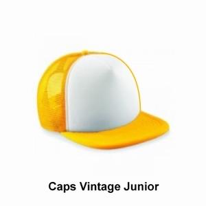 caps vintage junior / bedrukking max. 100x60 mm
