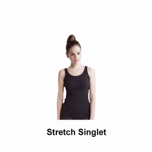 Skinnifit Stretch Topje Dames