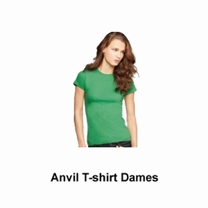Anvil T-shirt Dames