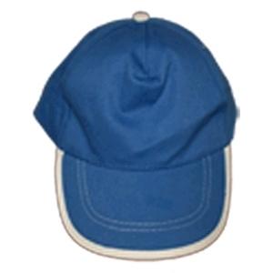 Kinder cap kobalt blauw / bedrukking max. 100x60 mm