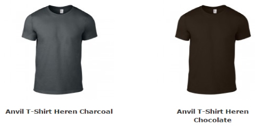 Anvil T-shirt Heren