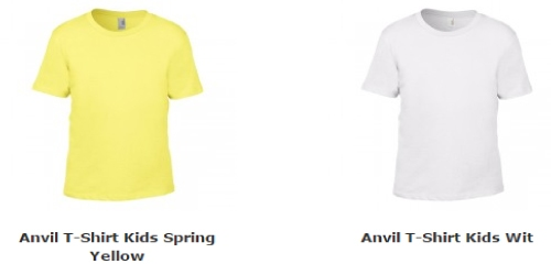 Anvil T-shirts Kids