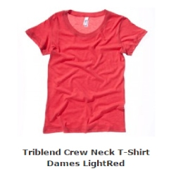 dames t-shirt triblend