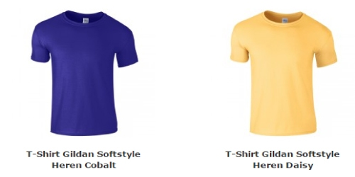 Gildan T-Shirt Heren Softstyle