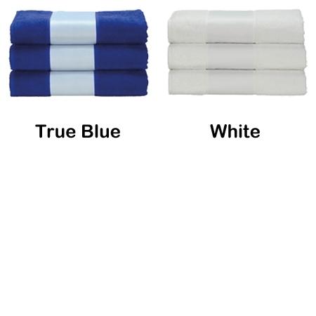 Handdoek bedrukt met foto - naam
