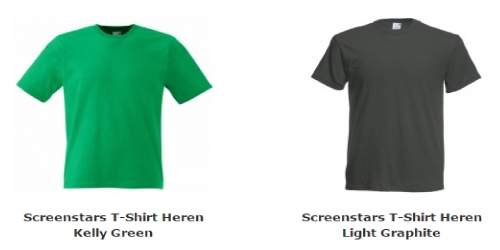 Heren T-Shirt Screenstars