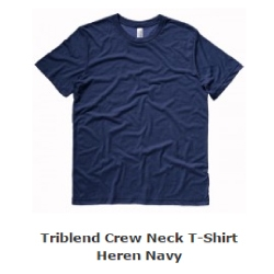 heren t-shirt triblend
