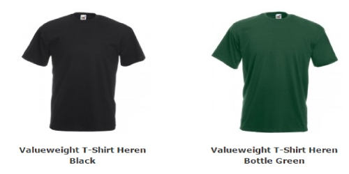 Heren T-Shirt Valueweight