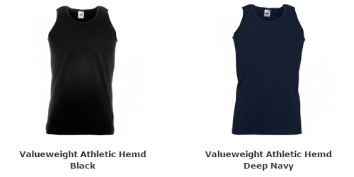 Heren Valueweight  Athletic Hemd