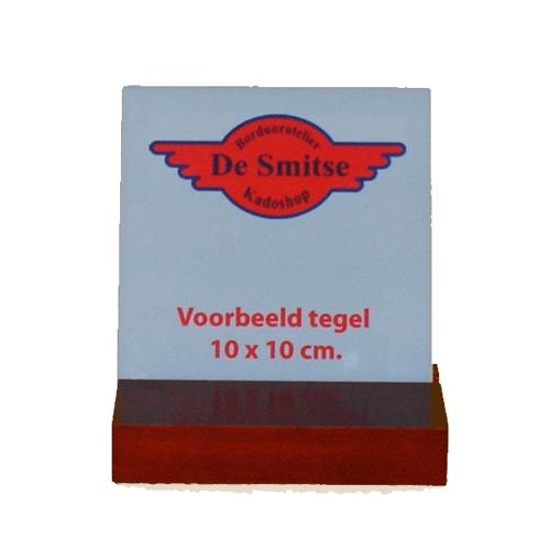 Houten lijstje voor tegel 10 x 10 cm