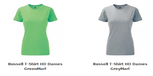 Russell T-shirt HD dames