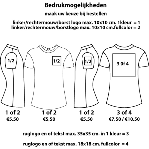 Skinnifit Stretch T-shirt Kids Korte Mouw