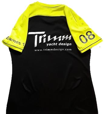 Sportshirt met logo bedrukt
