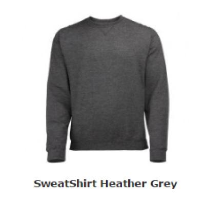 Sweater heather heren verkrijgbaar in 7 kleuren