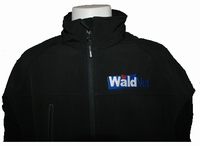 Borst logo borduren op fleece jas