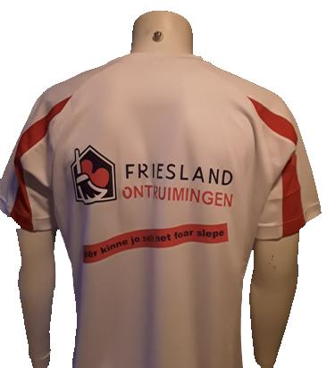 Sportshirt bedrukt met logo