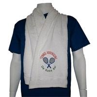 Tennissjaal  of  Sportsjaal met naam borduring